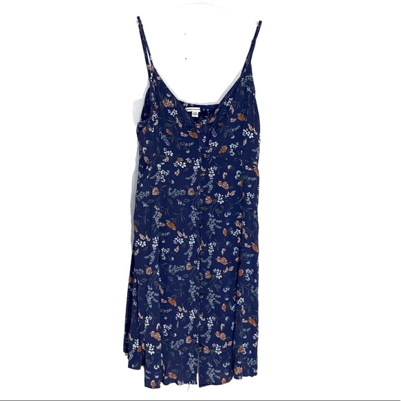 American Eagle Blue Floral Dress